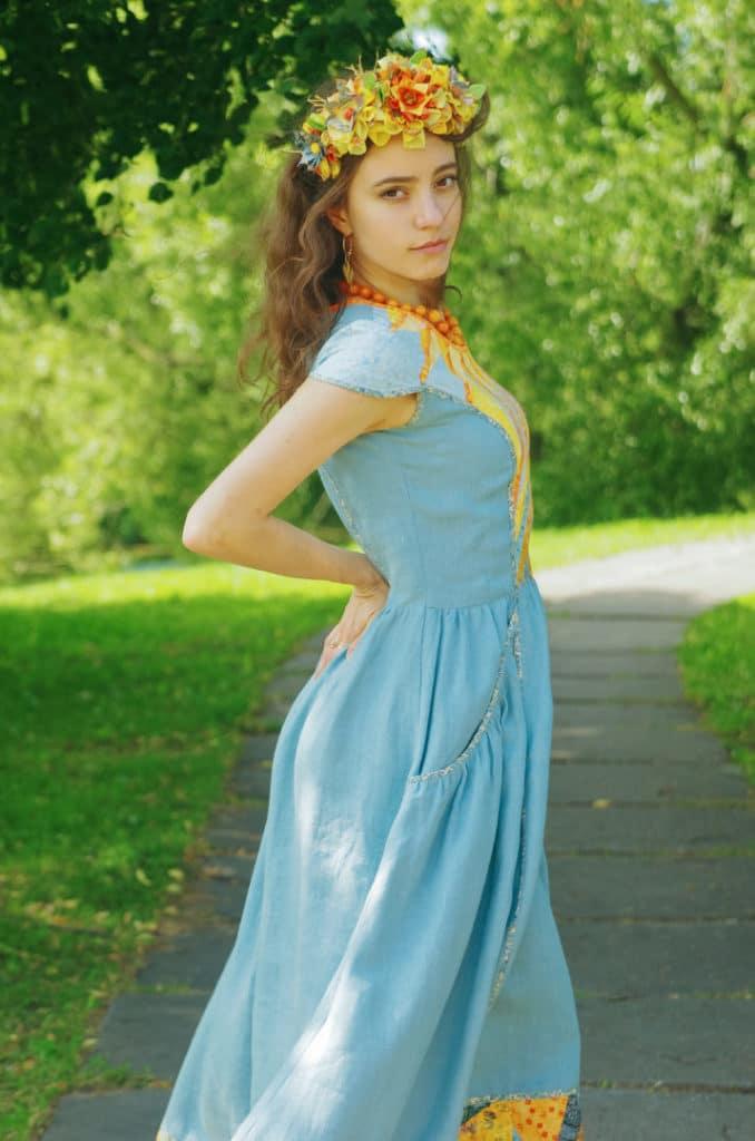 "Платье ""Звезда по имени солнце"""